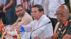 Президент Шри-Ланки Майтрипала Сирисена. Фото PMD News