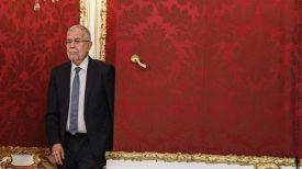 Президент Австрии Александер Ван дер Беллен. Фото EPA-EFE