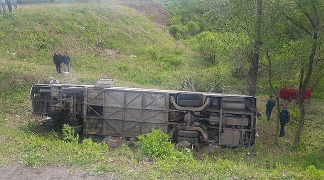Место происшествия. Фото ГИБДД Приморского края