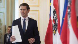 Канцлер Австрии Себастьян Курц. Фото AP