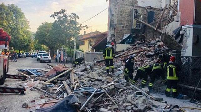 На месте происшествия. Фото La Repubblica