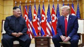 Ким Чен Ын и Дональд Трамп. Фото Йонхап