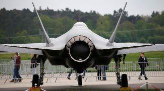 Истребитель-бомбардировщик F-35A. Фото Reuters