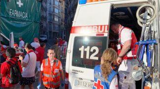 Фото из Twitter-аккаунта Красного Креста Наварры