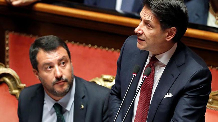 Джузеппе Конте. Фото Euronews