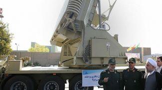 "Ракетный комплекс ""Бавар 373"". Фото официального сайта президента Ирана"