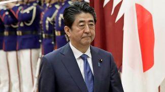 Премьер-министр Японии Синдзо Абэ. Фото EPA-EFE