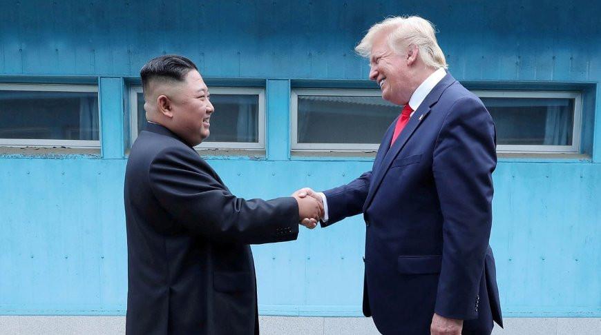 Ким Чен Ын и Дональд Трамп. Фото из архива   Reuters