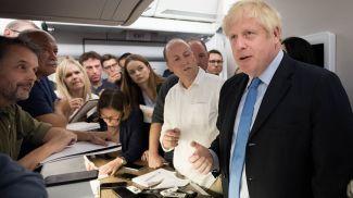 Борис Джонсон. Фото Sky News