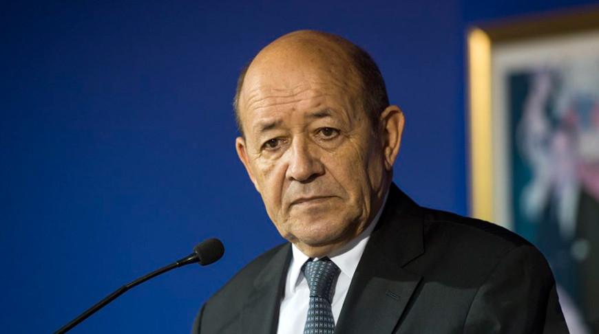 Министр иностранных дел Франции Жан-Ив Ле Дриан. Фото   Agence France-Presse