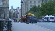 Неизвестный совершил вооруженное нападение на полицейский участок в Париже