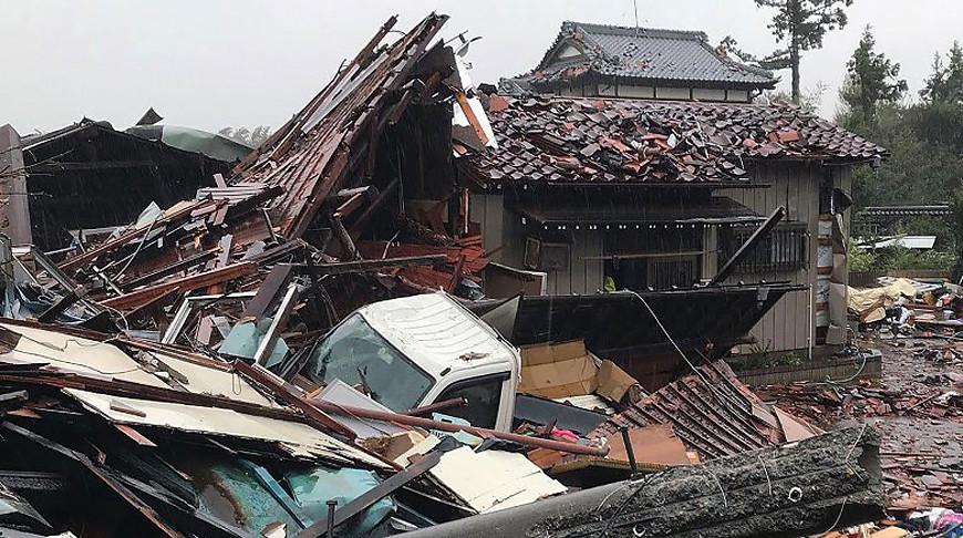 В Японии из-за тайфуна «Хагибис» уже погибли двое и пострадали 70 человек