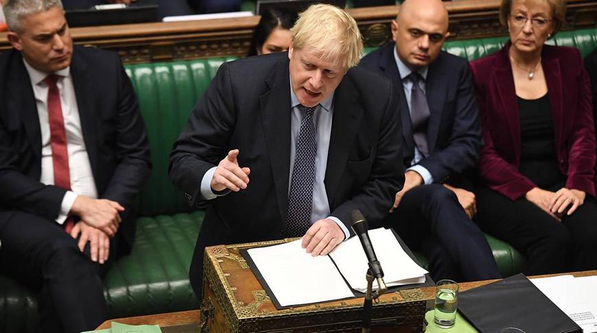 Премьер-министр Великобритании Борис Джонсон. Фото   EPA  -EFE
