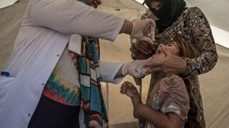 Кампания иммунизации против полиомиелита. Фото Управления ООН по координации гуманитарных вопросов
