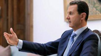 Башар Асад. Фото EPA