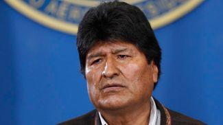 Эво Моралес. Фото AP Photo