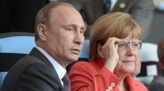 Владимир Путин и Ангела Меркель. Фото ТАСС