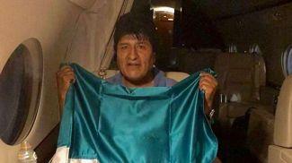 Эво Моралес. Фото со страницы главы МИД Мексики в Twitter
