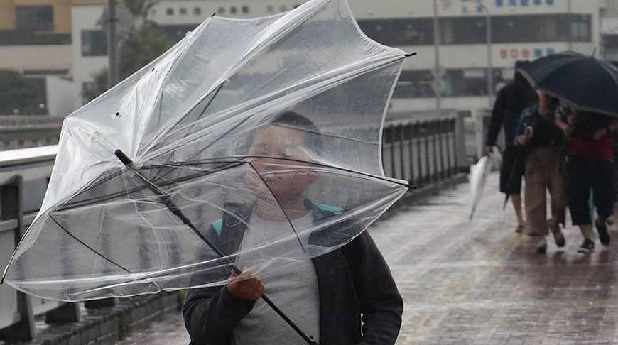 """Во время тайфуна """"Хагибис"""". Фото ТАСС"""