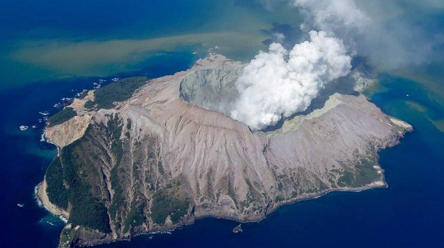 Вулкан на острове Уайт-Айленд. Фото  stuff.co.nz