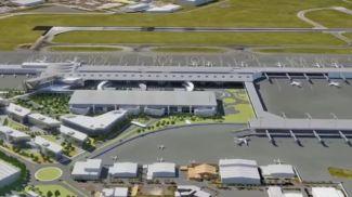 Аэропорт Аделаиды. Скриншот из видео airportbusinessdistrict.com.au