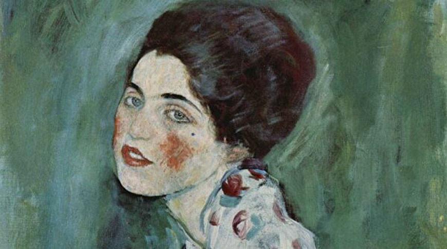 """Картина австрийского художника Густава Климта""""Портрет женщины"""""""