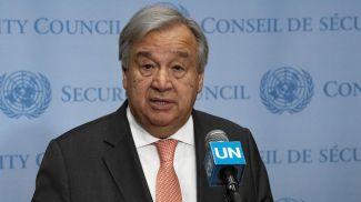 Антониу Гутерриш. Фото Службы новостей ООН
