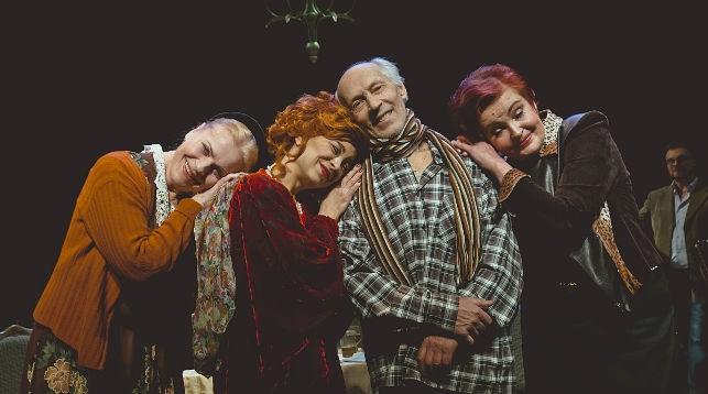 Во время спектакля. Фото Белорусского государственного академического музыкального театра