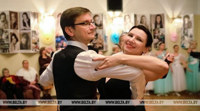 Александр и Людмила Парада во время Рождественского бала