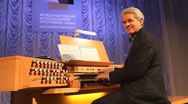 Рональд Эбрехт. Фото Витебской областной филармонии