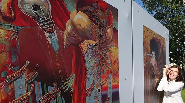 Выставка работ Георгия Скрипниченко. Фото из архива