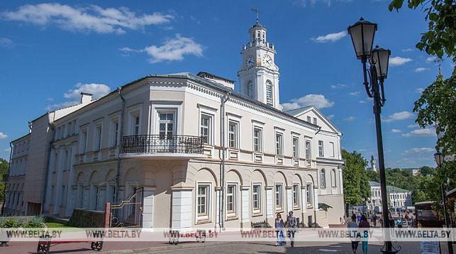 Городская ратуша в Витебске. Фото из архива