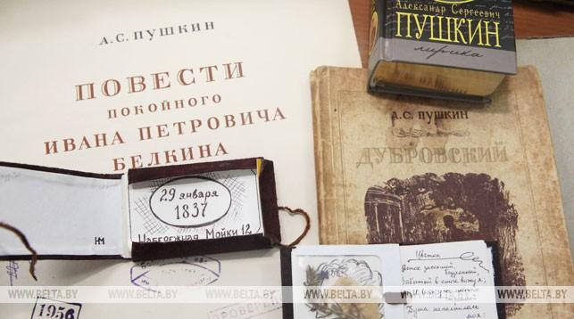 Экспонаты музейной гостиной им А.С. Пушкина. Фото из архива