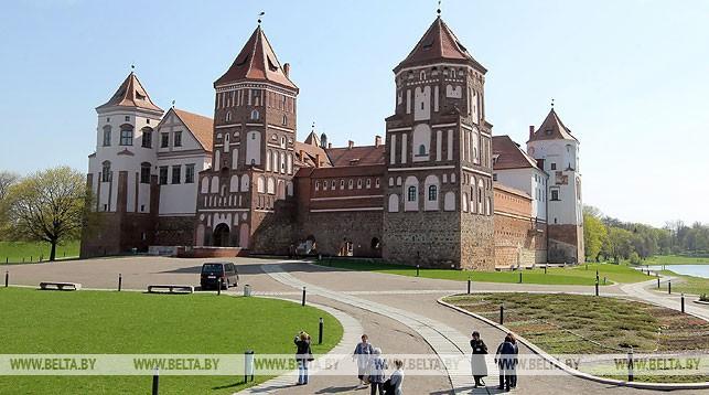 Мирский замок. Фото из архива