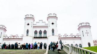 В Коссовском дворце. Фото из архива