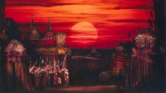 """Фрагмент постановки """"Князь Игорь"""". Фото театра"""