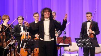 Евгений Бушков и государственный камерный оркестр Беларуси. Фото из архива