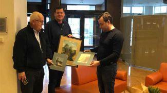 Фото из Facebook-аккаунта посольства Беларуси в Швейцарии