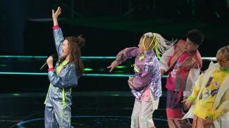 """Во время репитиции на сцене """"Евровидения"""". Фото из архива"""