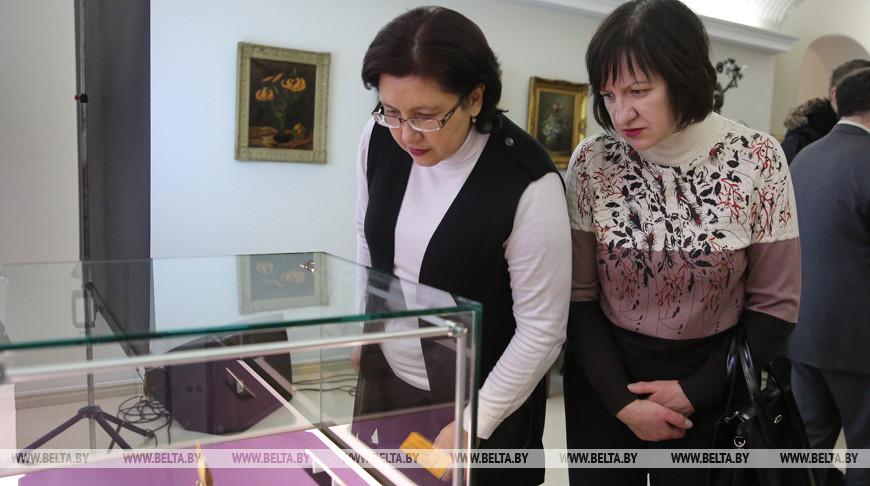 """Во время открытия музейного проекта """"12 артефактов"""". Фото из архива"""