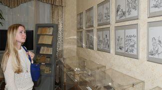 В музее. Фото из архива