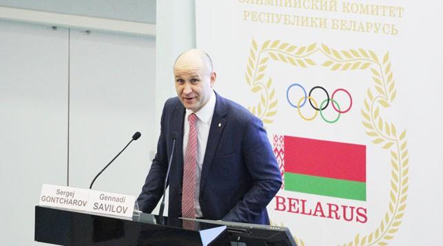 Геннадий Савилов. Фото НОК Беларуси