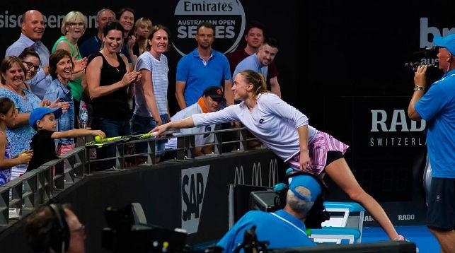 Александра Саснович. Фото из архива WTA