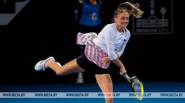 Александра Саснович. Фото Jimmie48 Tennis Photography
