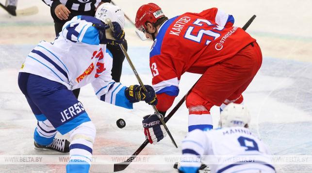 Во время мачта Россия - Финляндия