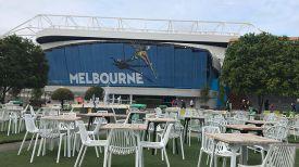 В Мельбурн-Парке. Фото организаторов турнира