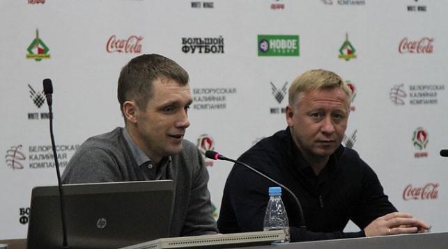 Виктор Гончаренко и Александр Ермакович. Фото АБФФ