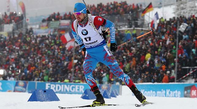 Александр Логинов. Фото Международного союза биатлонистов