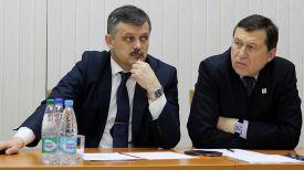 Сергей Ковальчук и Георгий Катулин. Фото Министерства спорта и туризма