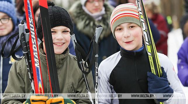 """Около 2,5 тыс. школьников Брестской области стали участниками """"Снежного снайпера"""""""